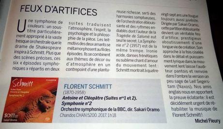 Classica Florent Schmitt Chandos