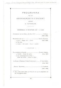 Concertgebouw Orchestra of Amsterdam Schmitt Chausson 1913