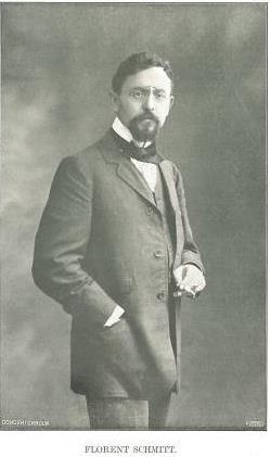 Florent Schmitt, photographed in about 1910.