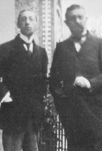 Florent Schmitt with Igor Stravinsky