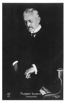 Florent Schmitt, French composer (1870-1958)