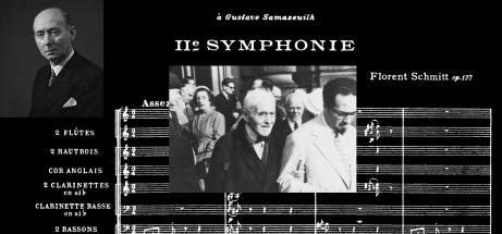 Florent Schmitt Symphony 2 score 1957