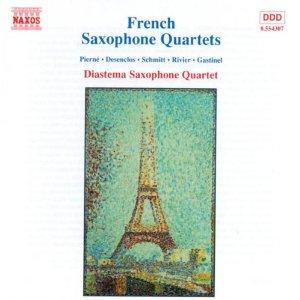 French Saxophone Quartets (Pierne, Schmitt, Rivier, Desenclos)