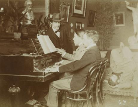 Florent Schmitt Andre Caplet Villa Medici Rome 1902