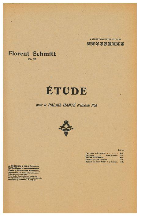 Florent Schmitt: The Haunted Palace