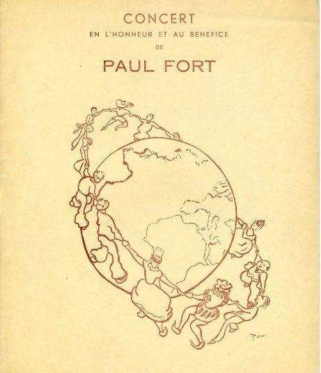 Paul Fort Concert 1936