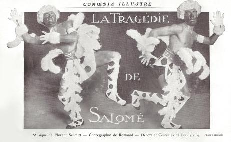 Florent Schmitt La Tragedie de Salome Ballets Russes 1913
