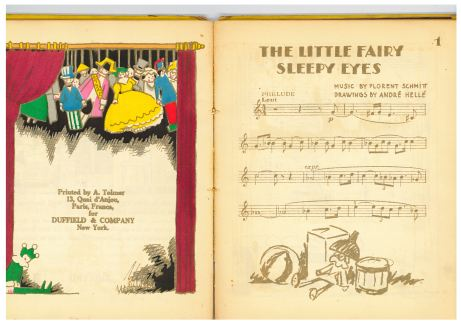 Little Fairy Sleepy-Eyes, printed by Tolmer for Duffield (1923)