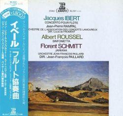 Ibert Schmitt Roussel Erato