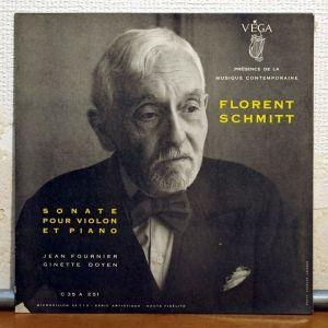 Florent Schmitt Sonata libre (Fournier + Doyen) (Vega)