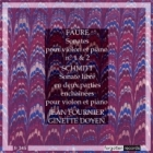 Schmitt and Faure Violin Sonatas Jean Fournier + Ginette Doyen Forgotten Records