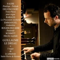 French Organ Music Guillaume Le Dreau Forgotten Records