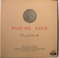 Premiere recording: Florent Schmitt's Psaume XLVII, with Denise Duval (1952).
