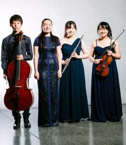 Schmitten ensemble at the 2014 Chamber Music Contest in New Zealand