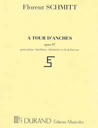 Florent Schmitt A Tour d'anches Op. 97 music score