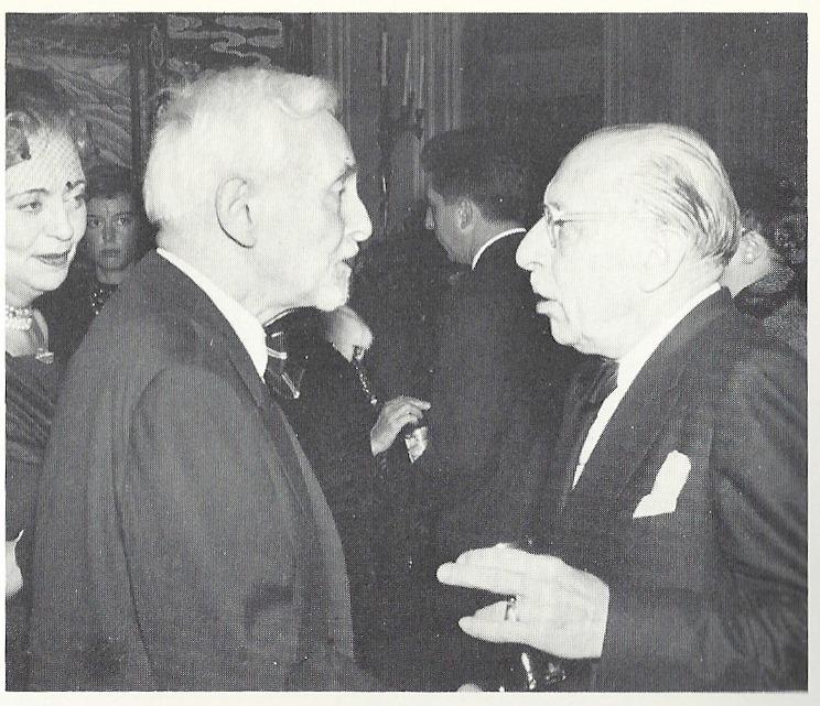 Les compositeurs vus par leurs contemporains - Page 3 Florent-schmitt-and-igor-stravinsky-1957