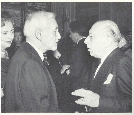 Florent Schmitt and Igor Stravinsky (1957 photo)