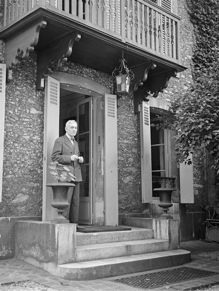 Florent Schmitt at his home in St. Cloud