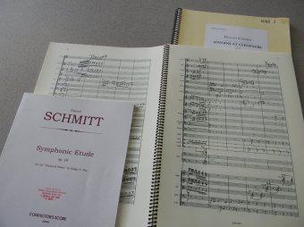 Florent Schmitt music scores