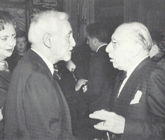 Florent Schmitt and Igor Stravinsky
