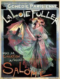 Loie Fuller Florent Schmitt Salome 1907 Paris