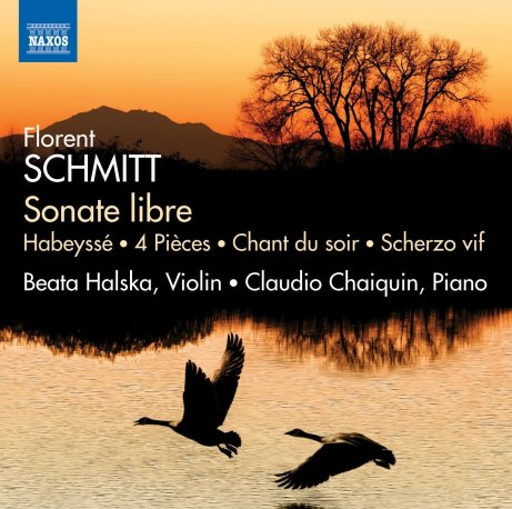 florent schmitt sonate libre works for violin piano