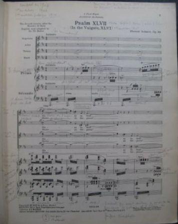 Florent Schmitt Psaume XLVII score
