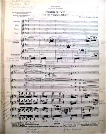 Florent Schmitt Psaume XLVII Score Page 1
