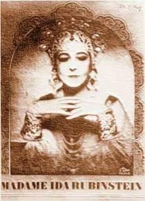 Ida Rubinstein 1928