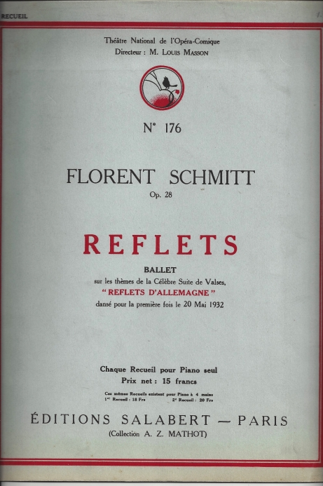 Florent Schmitt Ballet Version of Reflets d'Allemagne
