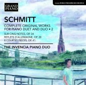 Florent Schmitt Invencia Piano Duo