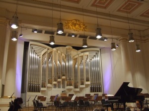 Klais Orgelbau organ at Krakow Philharmonic Hall