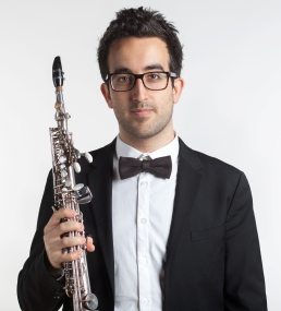 Louis-Philippe Bonin French saxophonist