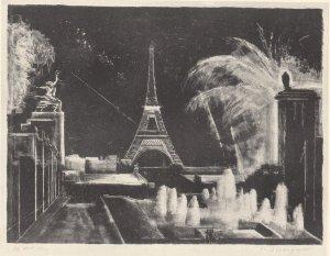Fetes de la lumiere Paris Exposition 1937