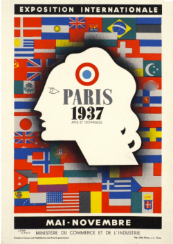 Paris Exposition Poster 1937