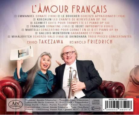 L'Amour francaise Reinhold Friedrich ARS Produktion