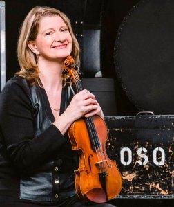 Catherine Dallaire violinist OSQ