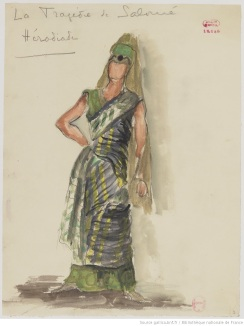 Herodias Tragedie de Salome Rene Piot