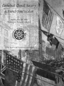 CCS Program Cover 2001