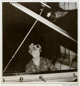 Francoise Gobet French pianist