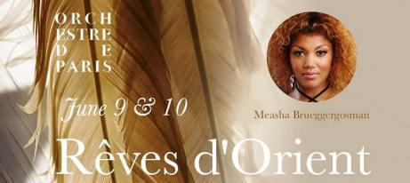Reves d'Orient Orchestre de Paris June 2018 Fabien Gabel Florent Schmitt Roussel Debussy Koechlin d'Indy Ravel