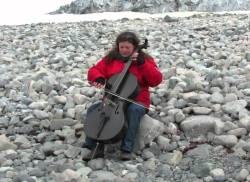 Elisa Kohanski Antarctica cello