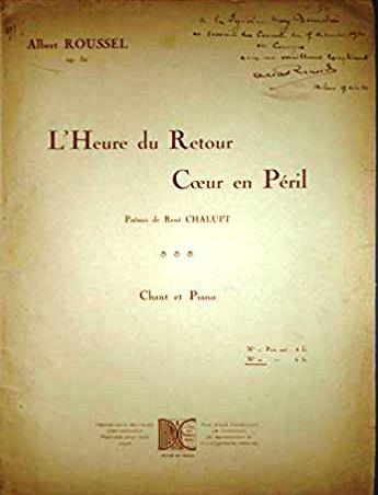 Albert Roussel Rene Chalupt