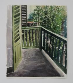 Etude Balcon pointu Mathieu Cherkit