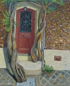 La porte rouge Mathieu Cherkit
