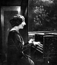 Wanda Landowska harpsichord
