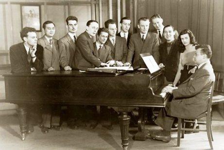 Tony Aubin Paris Conservatoire class 1953