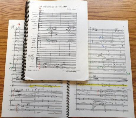 Florent Schmitt Salome Musique sur l'eau scores Falletta