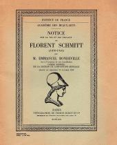 Emmanuel Bondeville Florent Schmitt Academie des Beaux Arts