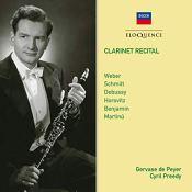 Gervase de Peyer clarinet recital florent schmitt andantino
